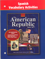 American Republic Since 1877, Spanish Vocabulary Activities