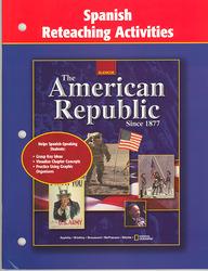 American Republic Since 1877, Spanish Reteaching Activities