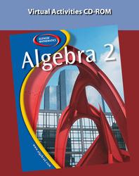 Algebra 2, Multimedia Applications: Virtual Activities CD-ROM