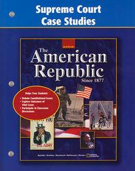 American Republic Since 1877, Supreme Court Case Studies