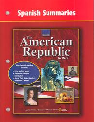 American Republic to 1877, Spanish Summaries