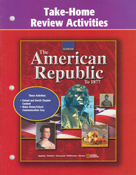 American Republic to 1877, Take Home and Review Activities