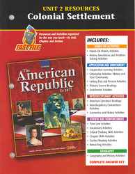American Republic to 1877, Unit 2 Resources