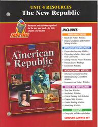 American Republic to 1877, Unit 4 Resources