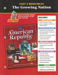 American Republic to 1877, Unit 5 Resources
