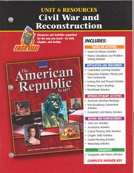 American Republic to 1877, Unit 6 Resources