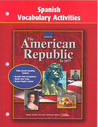 American Republic to 1877, Spanish Vocabulary Activities