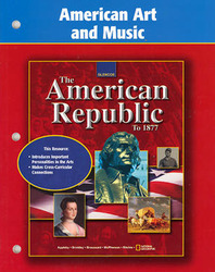 American Republic to 1877, American Art and Music