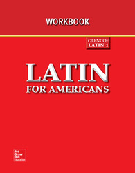 Latin for Americans Level 1, Writing Activities Workbook