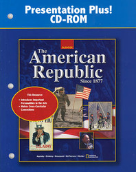 American Republic Since 1877, Presentation Plus! CD-ROM, Windows