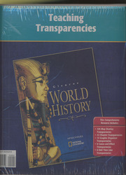 Glencoe World History, National Geographic Society Teaching Transparencies Binder