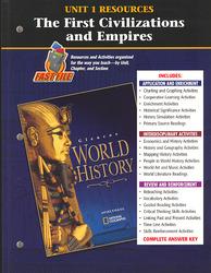 Glencoe World History, Unit 1 Resources