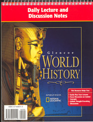 Glencoe World History, Daily Lecture and Discussion Notes