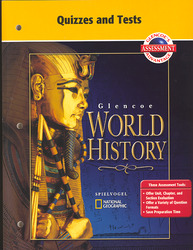 Glencoe World History, Quizzes and Tests
