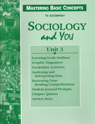 Sociology and You, Mastering Basic Concepts Unit 3