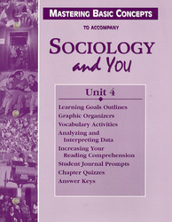Sociology and You, Mastering Basic Concepts Unit 4