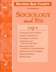 Sociology and You, Mastering Basic Concepts Unit 5