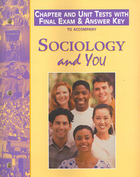 Sociology & You, Chapter and Unit Tests