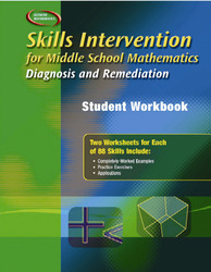 Skills Intervention for Middle School Mathematics: Diagnosis and Remediation, Student Workbook