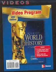 Glencoe World History, Video Programs, VHS