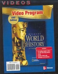 Glencoe World History, Video Programs, VHS