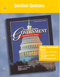 United States Government Democracy in Action, Section Quizzes