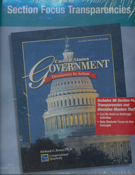 United States Government Democracy in Action, Section Focus Transparencies Binder