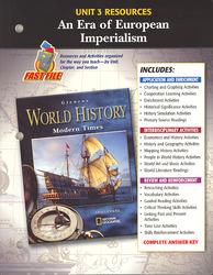 Glencoe World History Modern Times, Unit 3 Resources