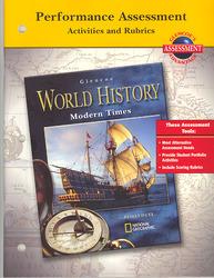 Glencoe World History Modern Times, Performance Assessment