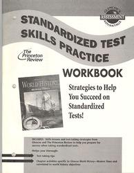 Glencoe World History Modern Times, Standardized Test Practice Workbook, Student Edition