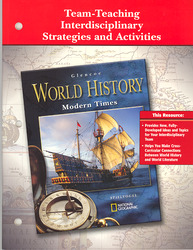 Glencoe World History Modern Times, Team Teaching Interdisciplinary Strategies and Activities