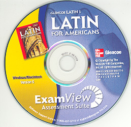 Latin for Americans Level 1, ExamView Assessment Suite CD-ROM