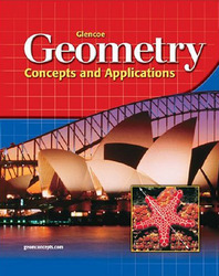 Glencoe Geometry: Concepts and Applications, Student Edition