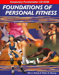 Foundations of Personal Fitness, Vocabulary Puzzlemaker CD-ROM (English/Spanish)