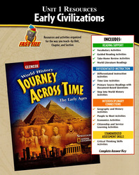 Journey Across Time, Early Ages, Unit 1 Resource