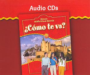 ¿Cómo te va? Intro Nivel rojo, Audio CD Program