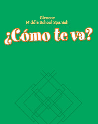¿Cómo te va? Level A Nivel verde, Workbook