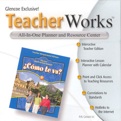 ¿Cómo te va? Level B Nivel azul, TeacherWorks CD-ROM