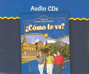 ¿Cómo te va? Level B Nivel azul, Audio CDs