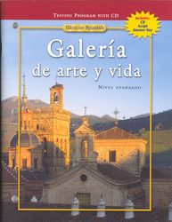 Galería de arte y vida,, Testing Program with Booklet & Audio CDs