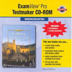 Galería de arte y vida, ExamView Pro Testmaker CD-ROM