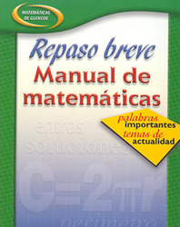 Quick Review Math Handbook: Hot Words, Hot Topics, Book 3, Spanish Student Edition