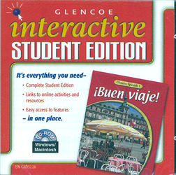 ¡Buen viaje! Level 1, Interactive Student Edition CD-ROM