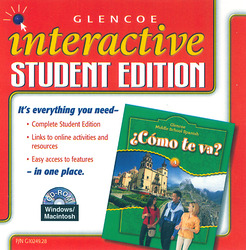 ¿Cómo te va? Level A Nivel verde, Interactive Student Edition CD-ROM