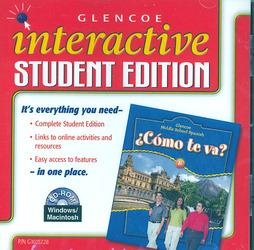 ¿Cómo te va? Level B Nivel azul, Interactive Student Edition CD-ROM