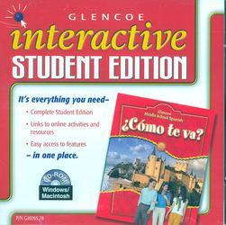 ¿Cómo te va? Intro Nivel rojo, Interactive Student Edition