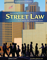Street Law: A Course in Practical Law, Transparency Binder