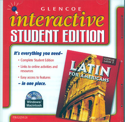 Latin for Americans Level 1, Interactive Student Edition CD-ROM