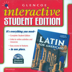 Latin for Americans Level 3, Interactive Student Edition CD-ROM