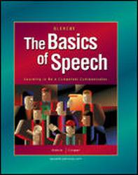 The Basics of Speech, Teacher's Annotated Edition'